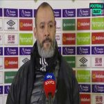 Nuno Espírito Santo full post match interview on referee Lee Mason
