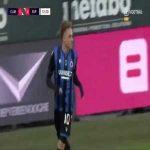Club Brugge 1-0 Eupen - Noa Lang 52'