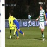 Antonio Adan (Sporting) penalty save against Belenenses SAD 19'