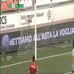 Virtus Entella 2-0 Pescara - Giuseppe De Luca 33'