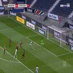 Frankfurt 0-1 Leverkusen - Nadiem Amiri back-heel 10'