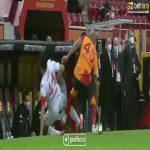 Marcao [Galatasaray] gets a yellow card. '54