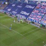 Rangers [1]-0 Celtic: Callum McGregor (OG) 70'
