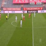 Wurzburger Kickers 1-[4] Karlsruhe - Jerome Gondorf 48'