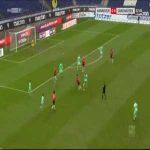 Hannover 1-0 Sandhausen - Marvin Ducksch 24'