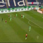 Hannover 2-0 Sandhausen - Patrick Twumasi 48'