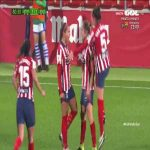 Nice goal by Deyna Castellanos for Atlético Women