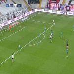 Besiktas 1-0 Rizespor - Cyle Larin 19'