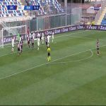 Crotone [1]-3 Roma - Vladimir Golemic 71'