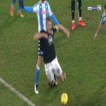 Napoli 1-[1] Spezia - M'Bala Nzola penalty 68'