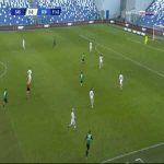 Sassuolo 1-0 Genoa - Jeremie Boga 52'
