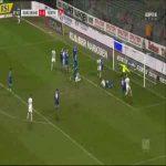 Karlsruhe 1-[2] Greuther Furth - Sebastian Ernst 28'