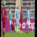 Joshua Zirkzee straight red vs 1860 München (close up)NSFW](blood)