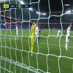 PSG 1-0 Brest - Moise Kean 16'