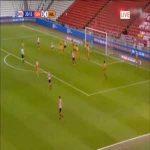 Sunderland [1]-1 Hull - Aiden McGeady 21'