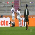 Augsburg 0-1 Stuttgart - Nicolas Ivan Gonzalez penalty 10'