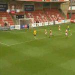 Cheltenham 0-1 Mansfield - Stephen McLaughlin 3'