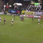Marine 0-3 Tottenham - Lucas Moura free-kick 32'