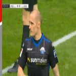 Paderborn 1-0 Aue - Sven Michel 4'