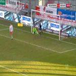 Regensburg 0-2 Bochum - Thomas Eisfeld free-kick 90'+5'