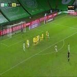 Celtic 1-0 Hibernian - David Turnbull free-kick 82'