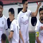 Al Sadd [1] - Duhail 1 15' - Bounedjah bullies his defender and scores. [Qatari Stars League]