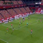 Granada 1-0 Osasuna - Luis Javier Suarez 22'