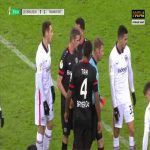 Jonathan Tah (Bayer Leverkusen) straight red card against Frankfurt 71'