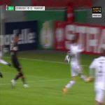 Leverkusen [1]-1 Frankfurt - Lucas Alario penalty 27'