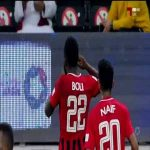 Yohan Boli scores from a defensive blunder. Al Rayyan 1 - Qatar SC 0 45' [Qatari stars league]