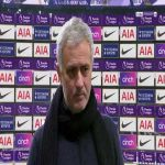 "Mourinho: ""We could have been 2 or 3 nil up in the first half... I knew 48 hours was enough to prepare a strong team, in football you know everything. Someone always speaks to somebody that tells another friend, there are no secrets."" 