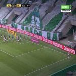 Palmeiras 0-1 River Plate [3-1 on agg.] - Robert Rojas 29'