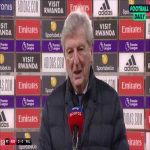"Hodgson: ""We need Eze for wide free kicks and corners as we get them a lot more than central free kicks, if you have someone who can deliver the ball very well, it is worth its weight in gold as Southampton have proved with Ward-Prowse over the years."" 