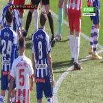 Tomas Pina (Alaves) straight red card against 35'