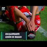 Unai Bilbao terrible knee injury vs San Luis (NSFW)