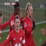 Wolfsburg 0-1 RB Leipzig - Nordi Mukiele 4'