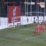 Alcorcon 0-2 Valencia - Manu Vallejo free-kick 77'