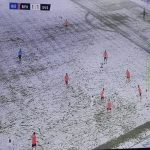 Two teams in Turkey played through the snow today. One team have Sauron's Ring.