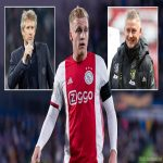 "Van der Sar on Donny van de Beek: ""I do talk to more people at the club… Fantastic attitude, he is doing well in training. It's hard. Pogba is coming back, Fernandes is very important, Matic and McTominay, who are there. There's no shame at all"" [Ziggo Sport, @Sport_Witness]"