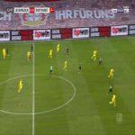 Bayer Leverkusen 1-0 Dortmund - Moussa Diaby 14'