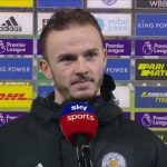 James Maddison post match interview