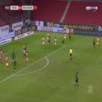 Mainz 0-1 Wolfsburg - Bartosz Bialek 65'
