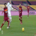 Roma [1]-2 Spezia - Lorenzo Pellegrini penalty 43'