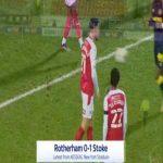 Rotherham 0-1 Stoke - Angus MacDonald OG 14'