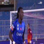 Al Hilal [1] - 0 Al-Taawoun — Bafétimbi Gomis 2' — (Saudi Pro League - Round 14) - Bicycle Kick Goal