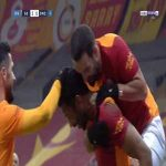 Galatasaray 3-0 Denizlispor - Ryan Donk 45'+1'