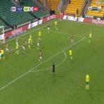 Norwich 1-0 Bristol City - Jordan Hugill 36'