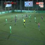 Cornella 0-1 Barcelona - Ousmane Dembele 92'