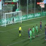 Ramon Juan Ramirez (Cornella) penalty save against Barcelona 39'