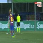 Ramon Juan Ramirez (Cornella) penalty save against Barcelona 80'